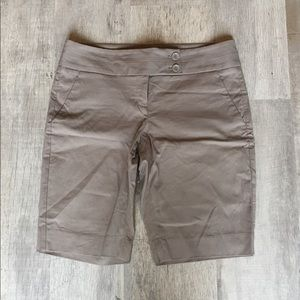 The Limited Khaki Bermuda Short